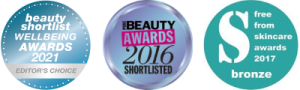 UK Skin Care & Cosmetic Awards - Plantain & Performance Cosmetic Innovations